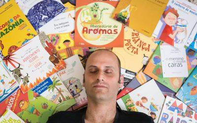 Matéria no Jornal a Gazeta de Cuiabá: Um escritor no coração das crianças