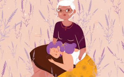 Do luto à superação: Suave aroma dos campos de lavanda é um livro emocionante e cheio de nuances . Publicado por  Victor Hugo Cavalcante – Folk Comunicação